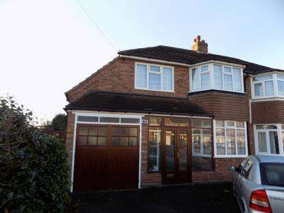 4 Bedrooms Semi Detached House for sale in Grosvenor Avenue, Streetly, Sutton Coldfield, .
