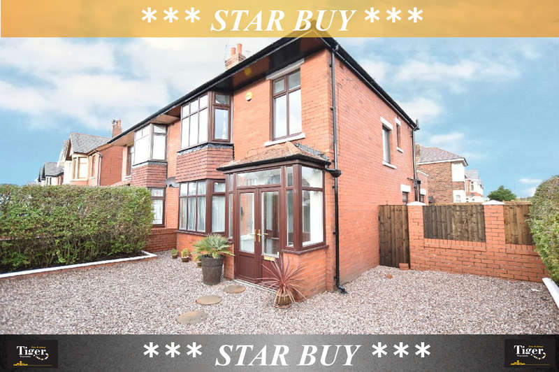 3 Bedrooms Semi Detached House for sale in Knowle Avenue, Blackpool