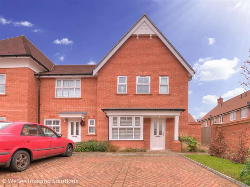 3 Bedrooms Semi Detached House for sale in Highwood Crescent, Horsham