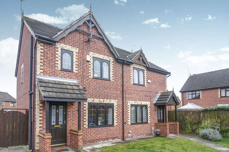3 Bedrooms Semi Detached House for sale in Wisteria Way, Hull, HU8