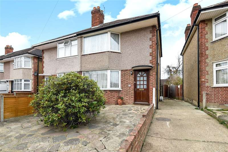 3 Bedrooms Semi Detached House for sale in Royal Crescent, Ruislip, Middlesex, HA4