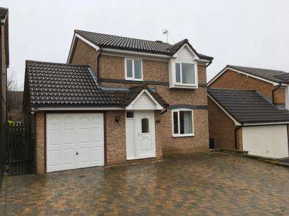 3 Bedrooms Detached House for sale in Oak Road, Grassmoor, Chesterfield, Derbyshire