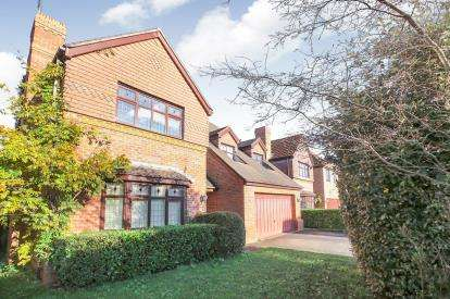4 Bedrooms Detached House for sale in Monarch Drive, Kingsmead, Northwich, Cheshire