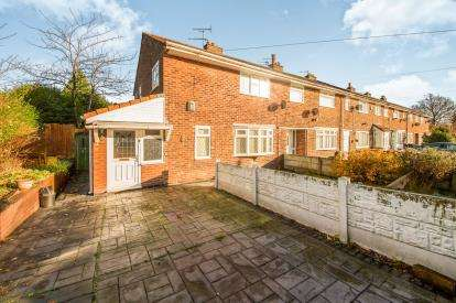 3 Bedrooms End Of Terrace House for sale in Hope Avenue, Little Hulton, Manchester, Greater Manchester