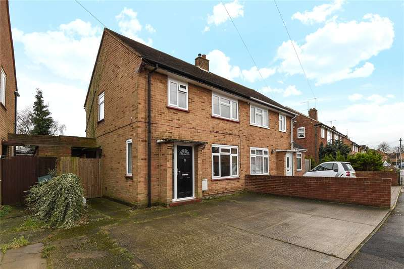 3 Bedrooms Semi Detached House for sale in Ash Grove, Harefield, Uxbridge, Middlesex, UB9