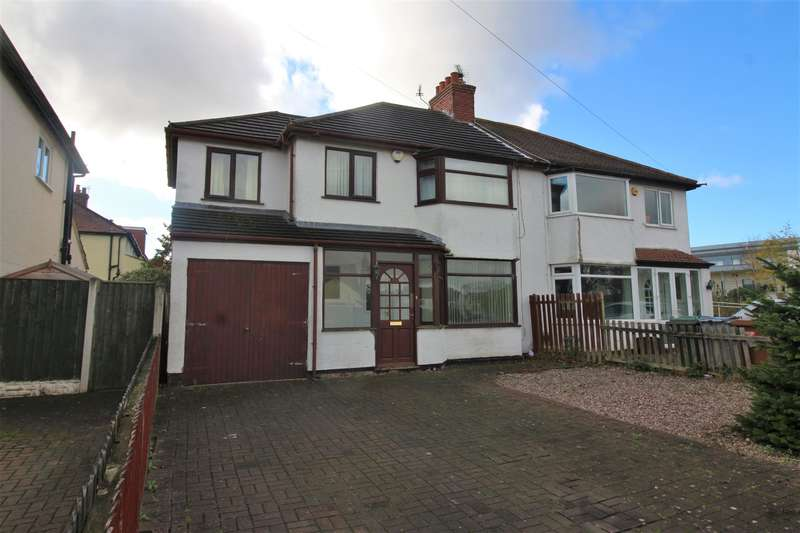 4 Bedrooms Semi Detached House for sale in Greenbank Drive, Pensby, Wirral, CH61 5UE