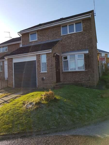 3 Bedrooms Detached House for rent in Jubilee Close, Northampton, Northamptonshire, NN4