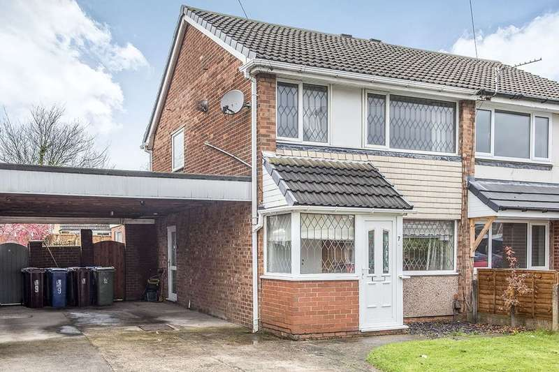 3 Bedrooms Semi Detached House for sale in Sturton Avenue, Wigan, WN3