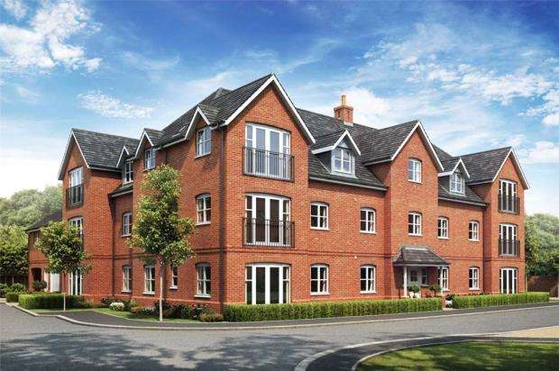 2 Bedrooms Apartment Flat for sale in Oakham Park, Old Wokingham Road, Crowthorne