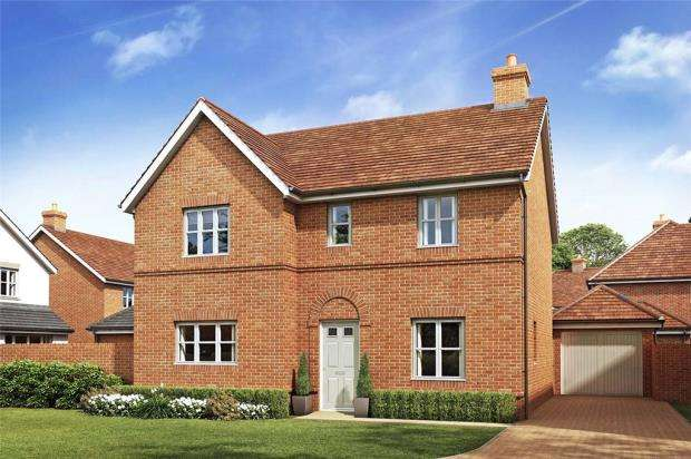 4 Bedrooms Detached House for sale in Oakham Park, Old Wokingham Road, Crowthorne