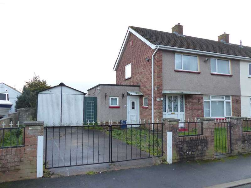 3 Bedrooms End Of Terrace House for sale in Crossway and Adjacent Plot, Rogiet, Caldicot
