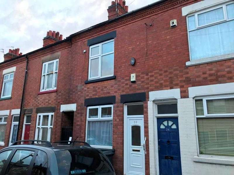 2 Bedrooms Terraced House for sale in Nugent Street, Leicester
