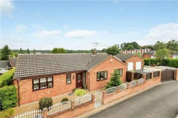 4 Bedrooms Detached Bungalow for sale in Wharf Road, Stanton Hill, Sutton-in-Ashfield, Nottinghamshire