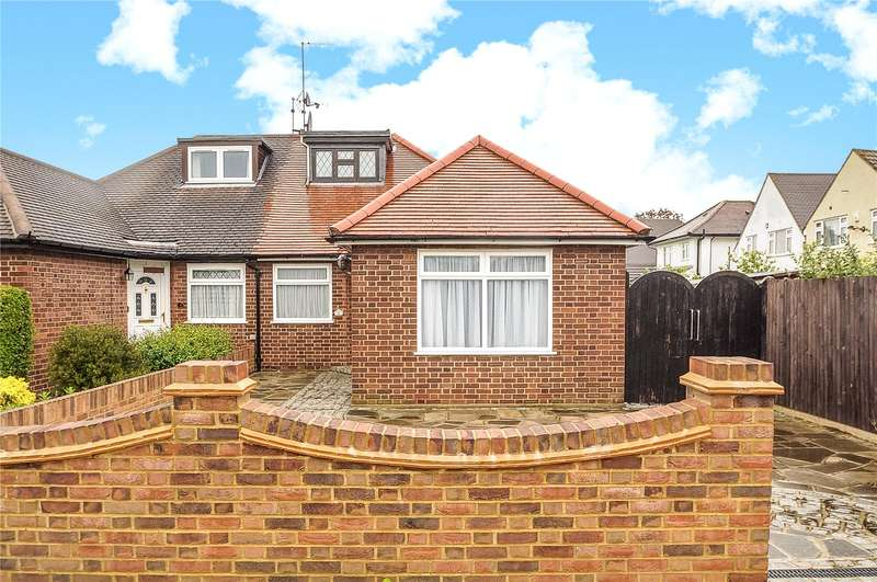2 Bedrooms Semi Detached Bungalow for sale in Crossway, South Ruislip, Middlesex, HA4