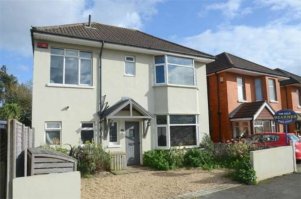 4 Bedrooms Detached House for sale in Mayfield Road, Bournemouth, Dorset