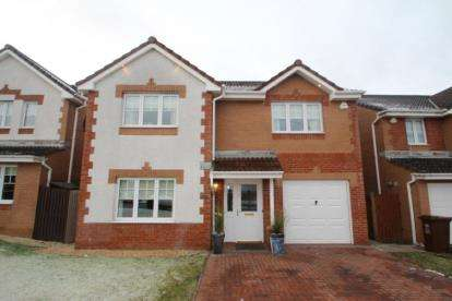 4 Bedrooms Detached House for sale in Dundrennan Drive, Chapelhall, Airdrie, North Lanarkshire