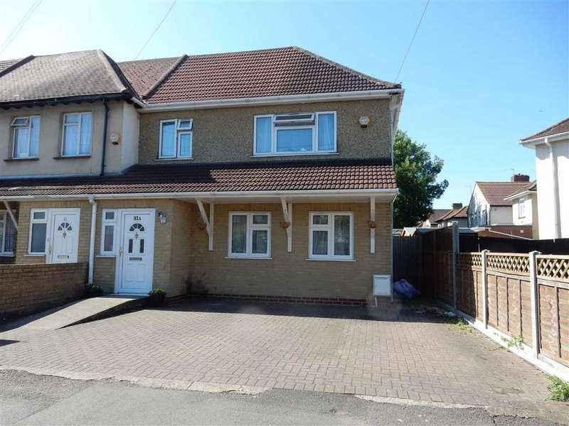 3 Bedrooms Town House for sale in Carlyle Avenue, Southall, Middlesex