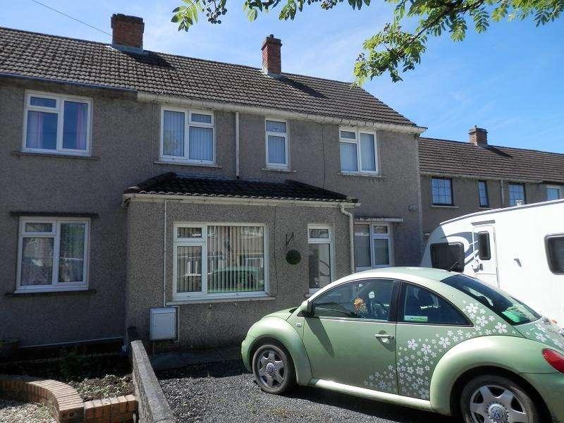 3 Bedrooms Semi Detached House for sale in Maesglas , Llandovery, Carmarthenshire.