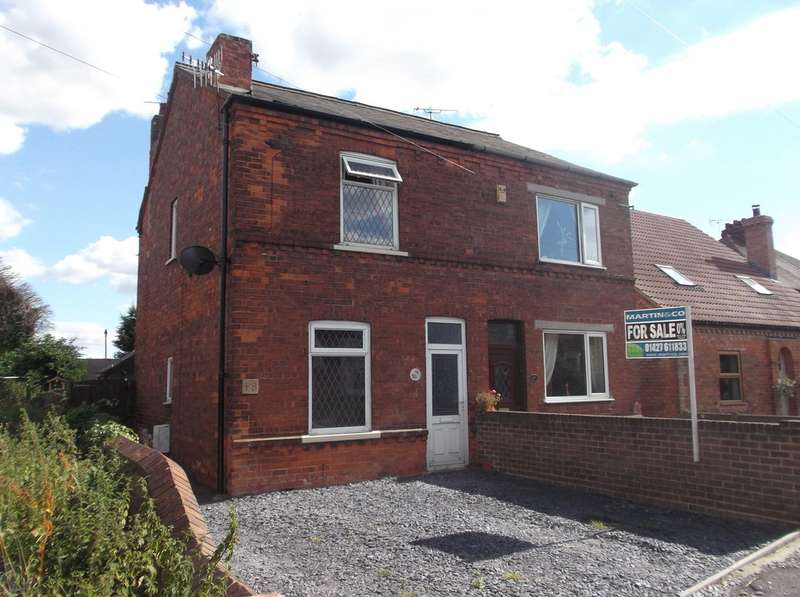 3 Bedrooms Semi Detached House for sale in Station Street, Misterton DN10