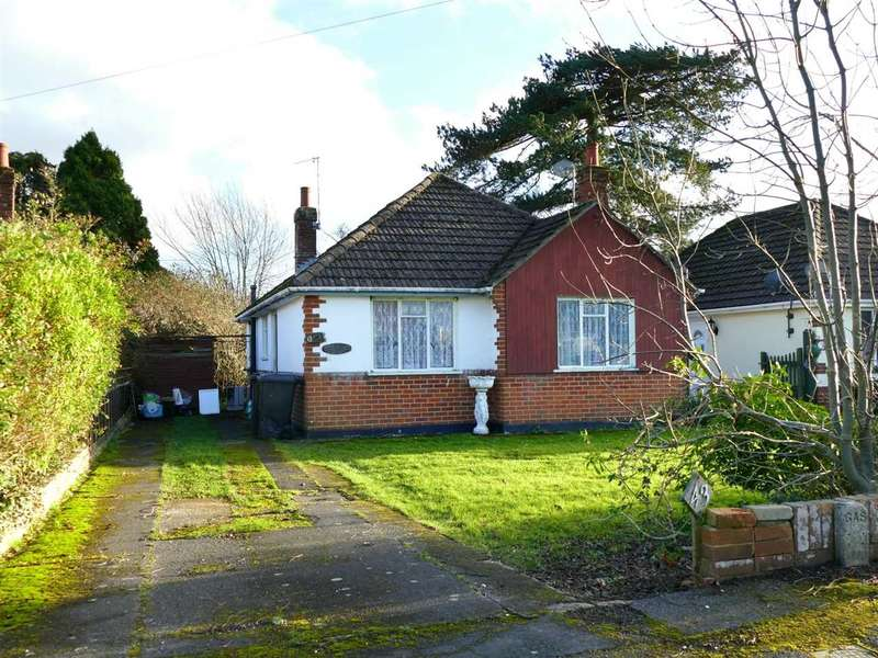 2 Bedrooms Detached Bungalow for sale in PROPERTY IN NEED OF REFURBISHMENT - Northbourne