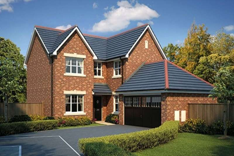 4 Bedrooms Detached House for sale in The Pastures Fleetwood Road, Wesham, Preston, PR4