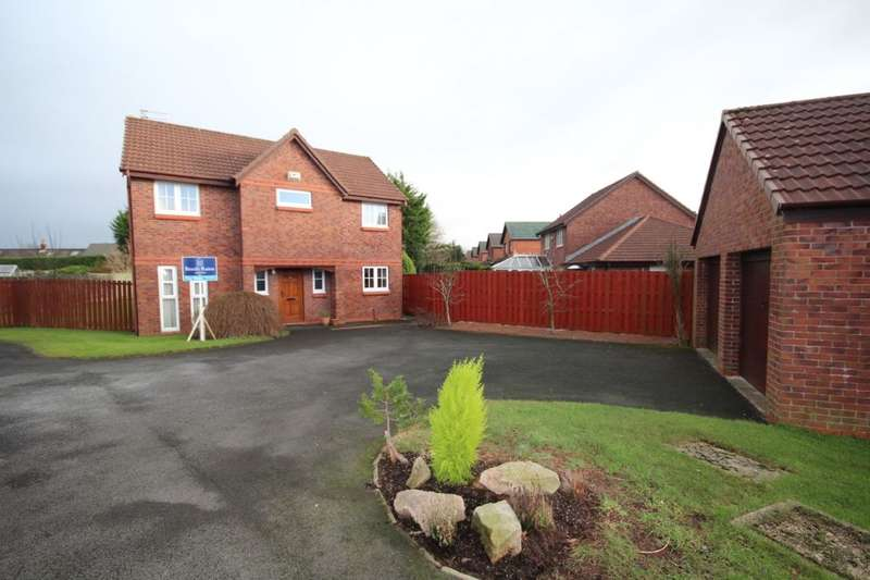4 Bedrooms Detached House for sale in Calla Drive, Garstang, Preston, PR3
