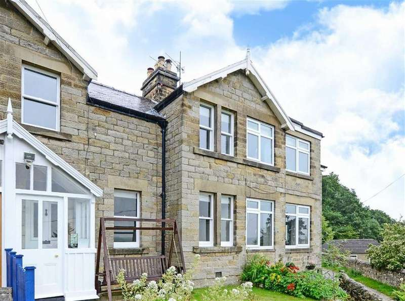 3 Bedrooms Terraced House for sale in South Bank, Bar Road, Baslow, DE45