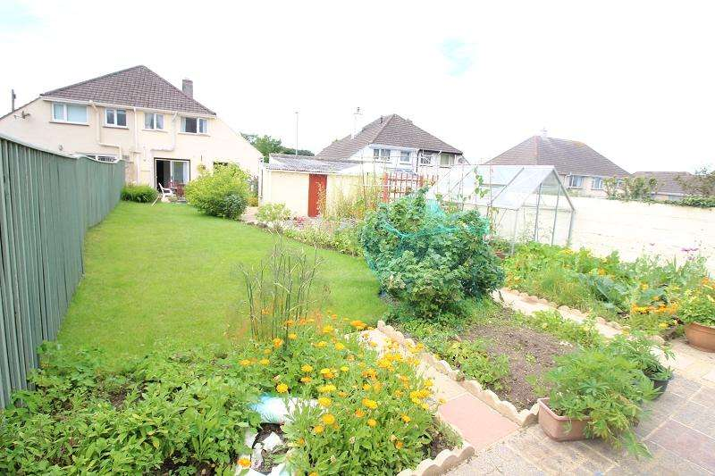 2 Bedrooms Semi Detached House for sale in Pembroke Road, Haverfordwest, Pembrokeshire. SA61 1LN