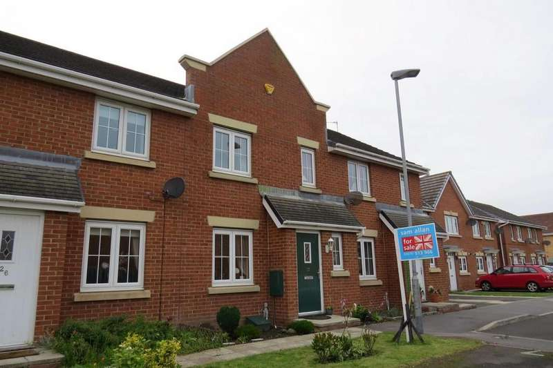 3 Bedrooms Terraced House for sale in Manor Court, Newbiggin-By-The-Sea