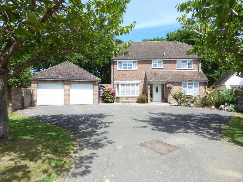 4 Bedrooms Detached House for sale in Wychwood Close, Craigweil-on-Sea, Bognor Regis PO21