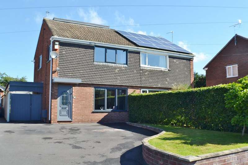 4 Bedrooms Semi Detached House for sale in Sycamore Close, Holmes Chapel
