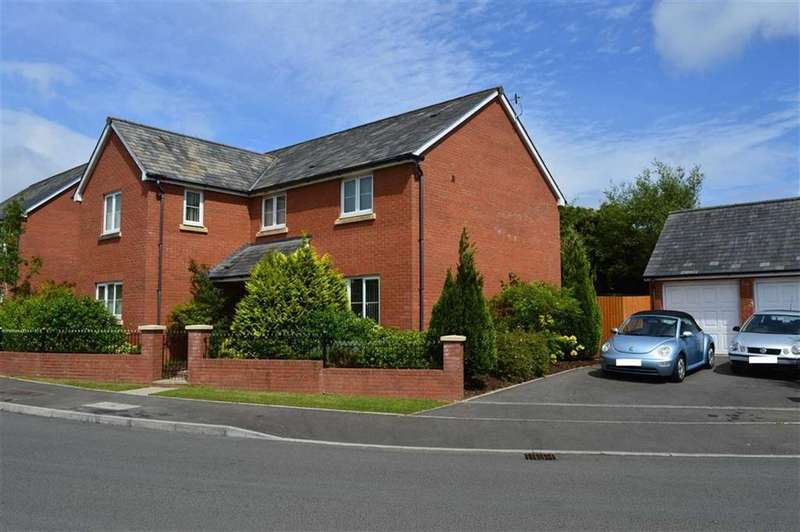 4 Bedrooms Detached House for sale in Oaktree Close, West Cross, Swansea