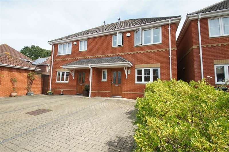 2 Bedrooms Semi Detached House for sale in Old Dairy Close, Poole, BH15