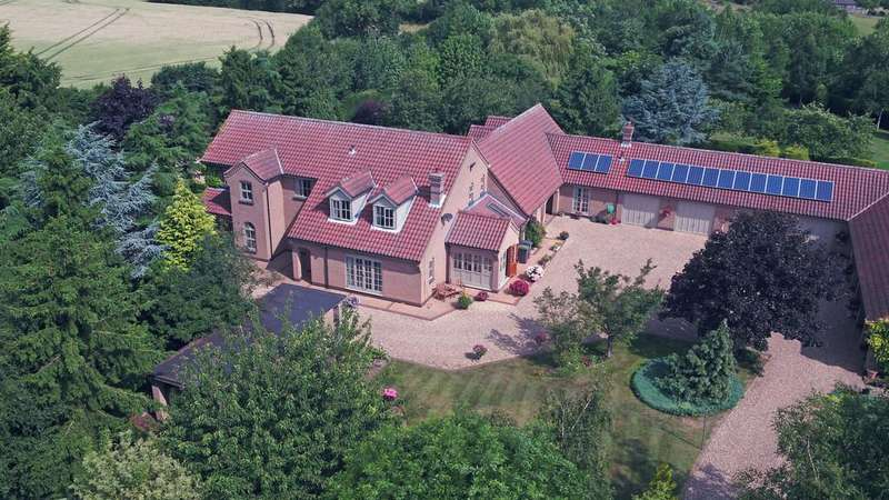 6 Bedrooms Detached House for sale in Potterhanworth Road, Heighington, Lincoln