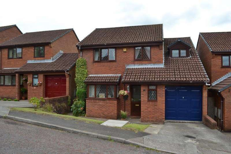 4 Bedrooms Detached House for sale in Murrayfield Close, Swansea