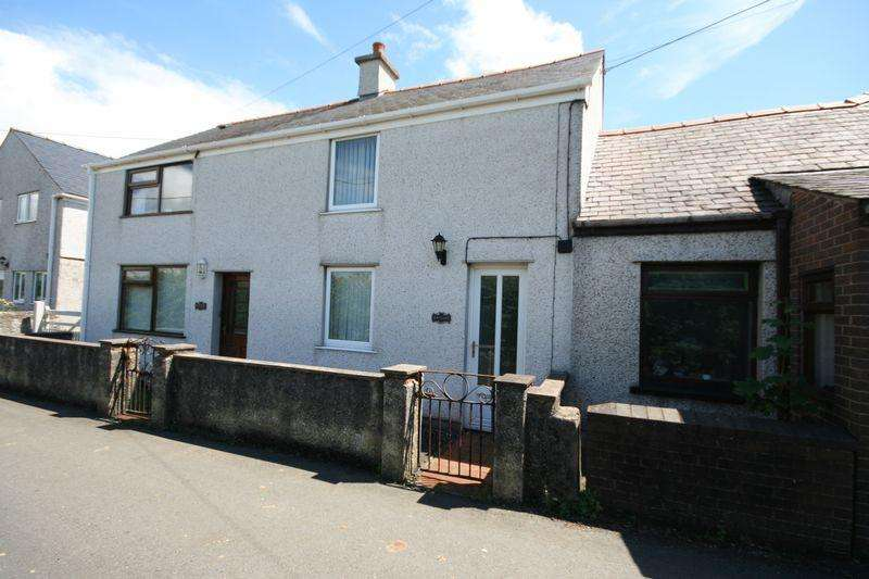2 Bedrooms Terraced House for sale in Bodorgan, Anglesey