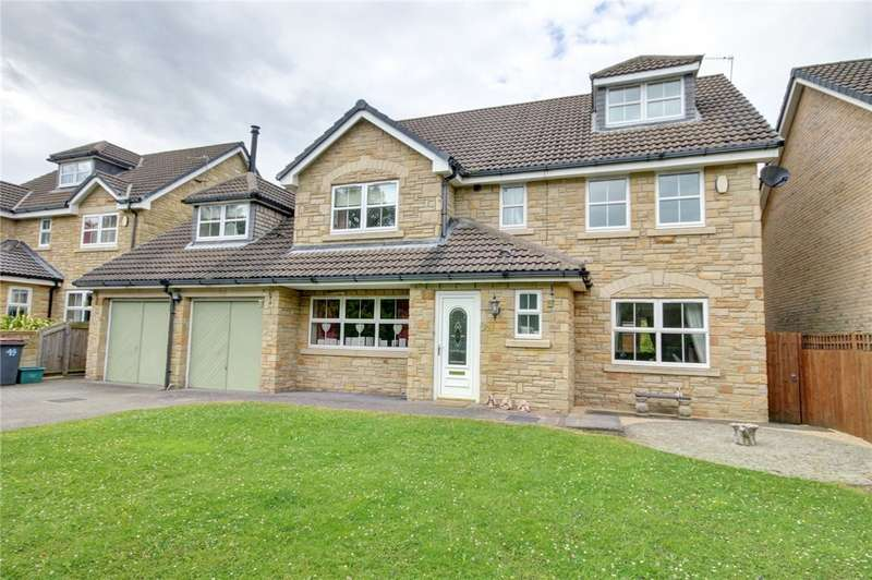 6 Bedrooms Detached House for sale in The Paddock, Waterhouses, Durham, DH7