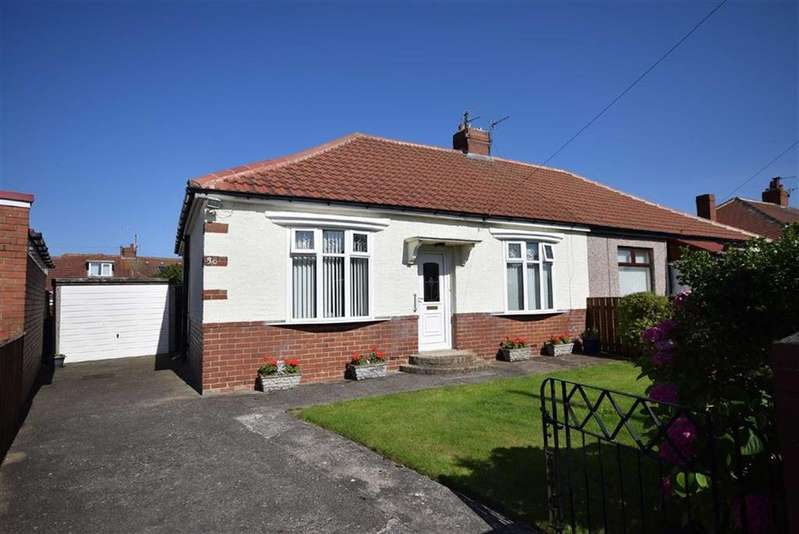 2 Bedrooms Semi Detached Bungalow for sale in Fairview Avenue, South Shields
