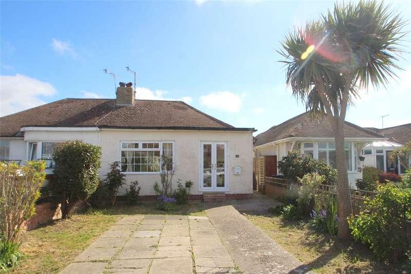 2 Bedrooms Semi Detached Bungalow for sale in Bristol Avenue, Lancing, West Sussex, BN15