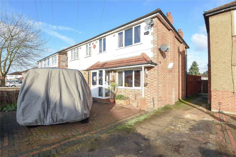 3 Bedrooms Semi Detached House for sale in Findhorn Avenue, Hayes, Middlesex, UB4