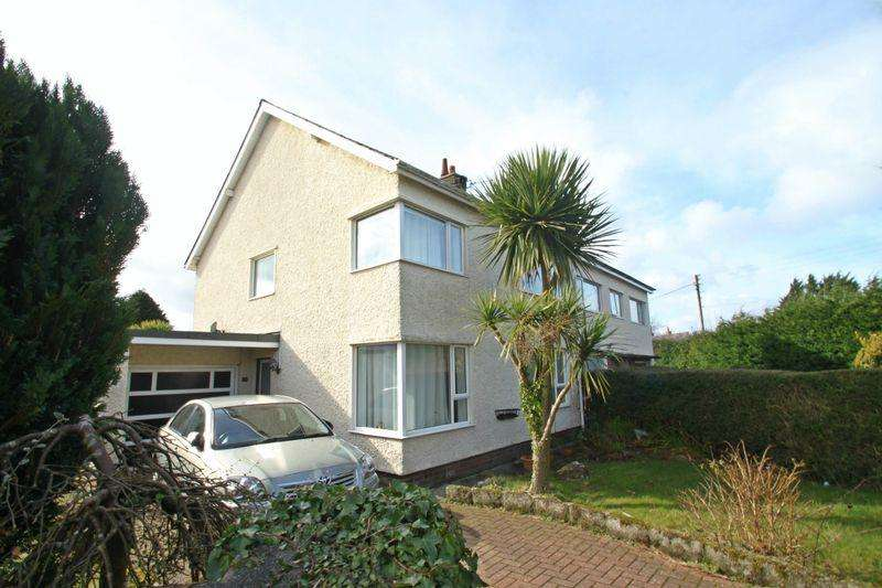 3 Bedrooms Semi Detached House for sale in Penrhosgarnedd, Bangor