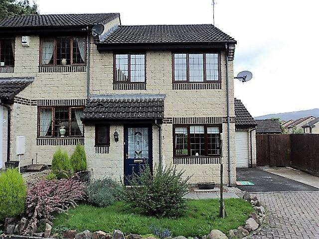 3 Bedrooms Semi Detached House for sale in Lavender Way, Afon Village, Rogerstone, NEWPORT NP10