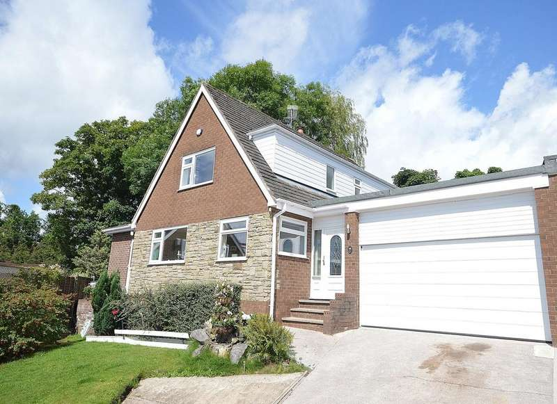 4 Bedrooms Link Detached House for sale in Bracken Close, Marple Bridge, Cheshire