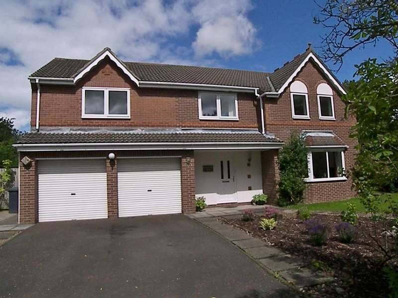 5 Bedrooms Detached House for sale in Church View, Longhorsley, Morpeth
