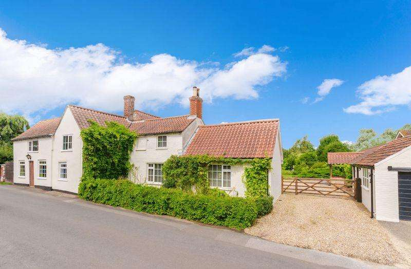 6 Bedrooms Detached House for sale in Goulceby - 6 bed det house, 1 bed annexe gardens 1 acre (sts)