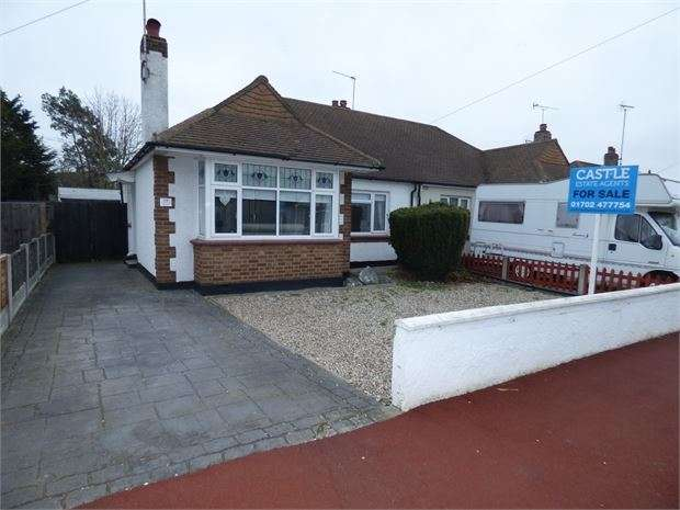 2 Bedrooms Semi Detached Bungalow for sale in Leighcroft Gardens, Leigh on sea, Leigh on sea, SS9 4NP