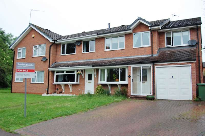4 Bedrooms End Of Terrace House for sale in Bilbury Close, Redditch, B97 5XW