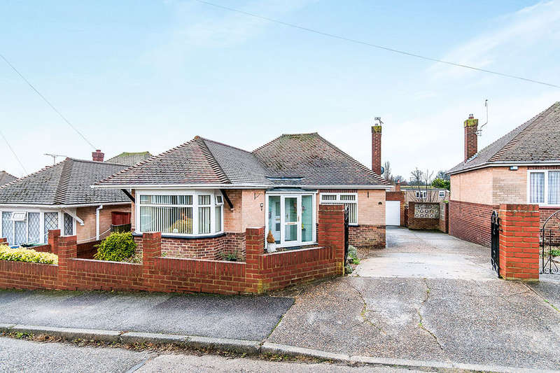 2 Bedrooms Detached Bungalow for sale in Darnley Close, Broadstairs, CT10