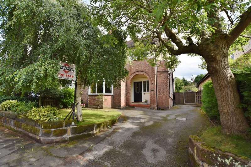 4 Bedrooms Semi Detached House for sale in Broomfield Lane, Hale