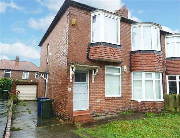 3 Bedrooms Flat for sale in Greywood Avenue, Newcastle upon Tyne, Tyne and Wear